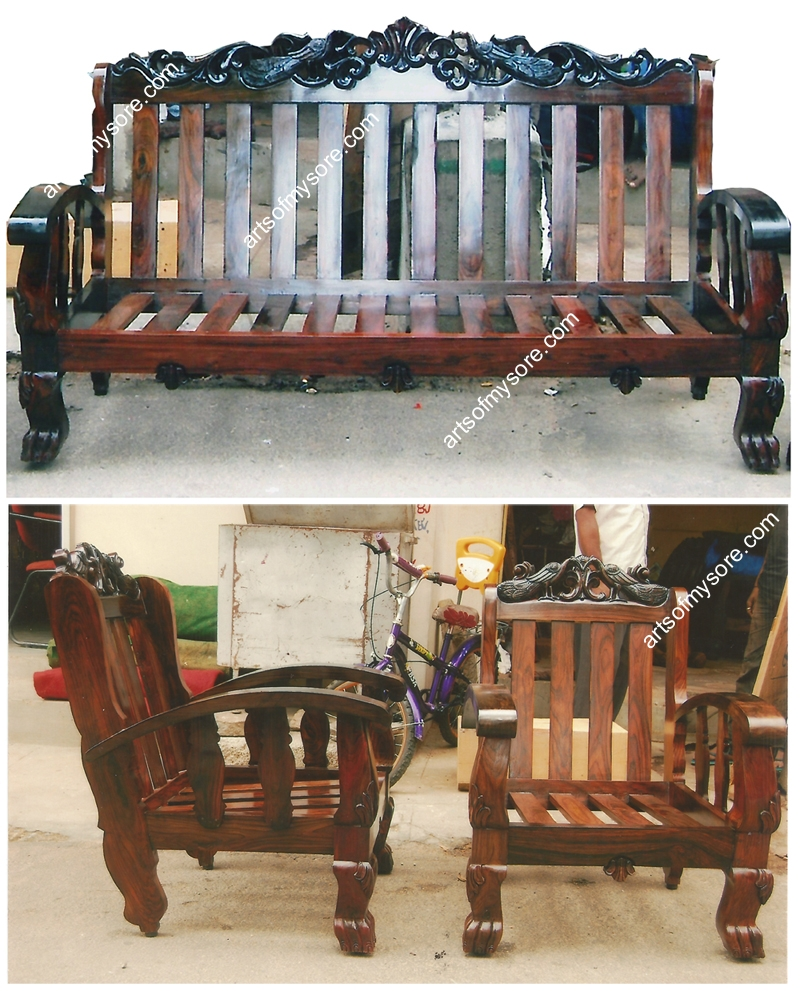 Arts Of Mysore Rosewood Furniture